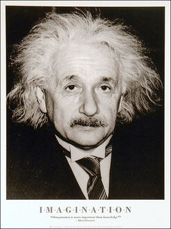 Albert Einstein Imagination
