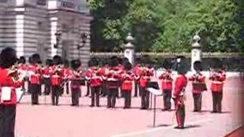 Buckingham Palace Marching Band Playing the Imperial March
