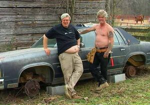 Red neck car
