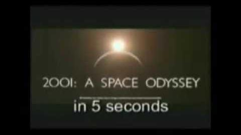 2001 SPACE ODYSSEY in 5 seconds