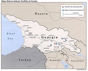 Cia-map georgia-defense-industries