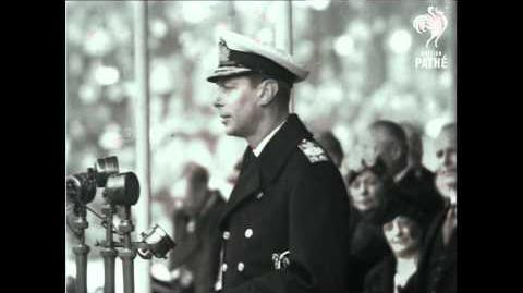 The King's Real Speech (George VI Stutter) Full Resolution