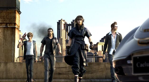 Final Fantasy XV as it was imagined for the PlayStation 3.