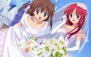 Nemu and Kotori wedding