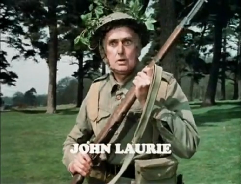 Image result for DAD'S ARMY - john laurie
