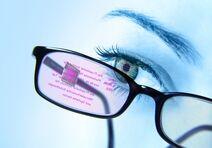 HUD-Brille von vorne