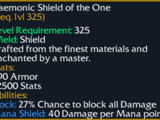 Daemonic Shield of the One
