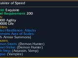 Exquisitor of Speed