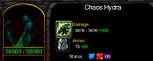 Chaoshydra
