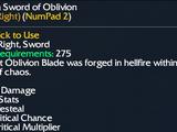 Demon Sword of Oblivion