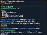 Bloody Wings of the Newbae