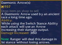 Daemonic Arrow