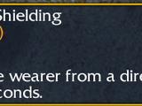 Amulet of Shielding