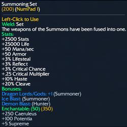 Summoning Set