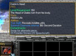 Diablo's Head 6.09