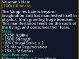 Valseran's Hate