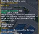 Divine Bow of Sealing Light