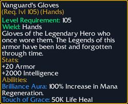 Vanguard's Gloves