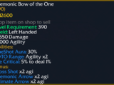 Daemonic Bow of the One