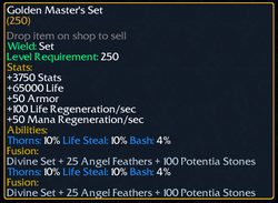 Golden Masters Set