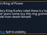 King Kurley's Ring of Power
