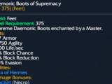 Daemonic Boots of Supremacy