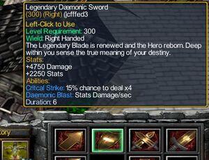 Legendary Daemonic Sword 6