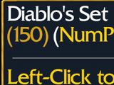 Diablo's Set