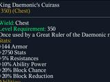 King Daemonic's Cuirass