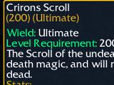 Crirons Scroll