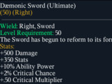 Daemonic Sword(Ultimate)