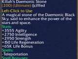 Killah's Daemonic Stone