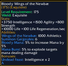 Blood Wings of the Newbae