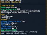 Daemonic Sword(Angelic)