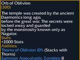 Orb of Oblivion