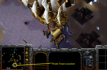 Pirate Town Location