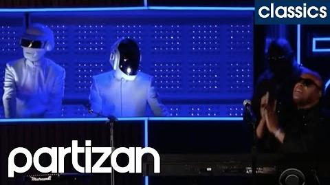 WARREN FU - DAFT PUNK (GET LUCKY LIVE, feat. PHARRELL WILLIAMS & STEVIE WONDER) - GRAMMY AWARDS
