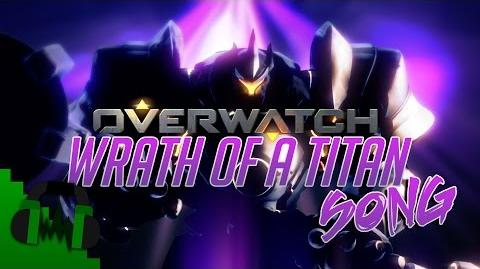 OVERWATCH REINHARDT SONG (Wrath Of A Titan) LYRIC VIDEO - DAGames