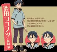 Dagashi Kashi S2 Character Design - Kokonotsu