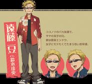 Dagashi Kashi S2 Character Design - Tou