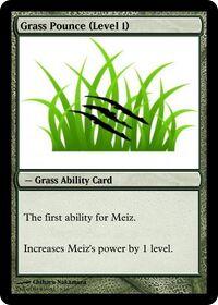 Grass Pounce (Level 1)