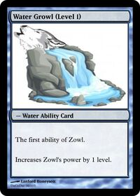 Water Growl (Level 1)