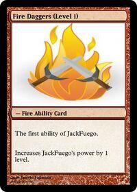 Fire Daggers (Level 1)