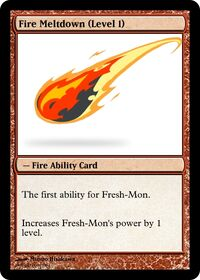 Fire Meltdown (Level 1)