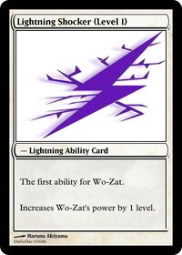Lightning Shocker (Level 1)