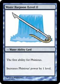 Water Harpoon (Level 1)