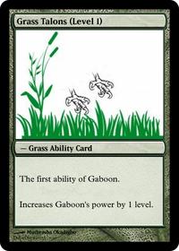 Grass Talons (Level 1)