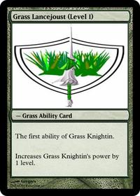 Grass Lancejoust (Level 1)
