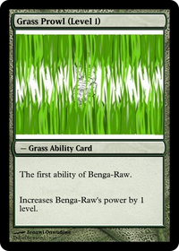 Grass Prowl (Level 1)