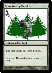 Grass Warcry (Level 1)